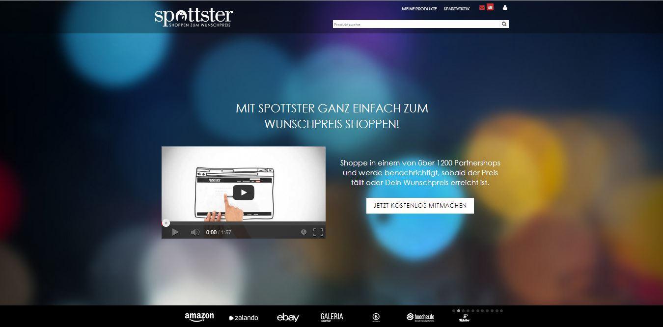 spottster frontpage