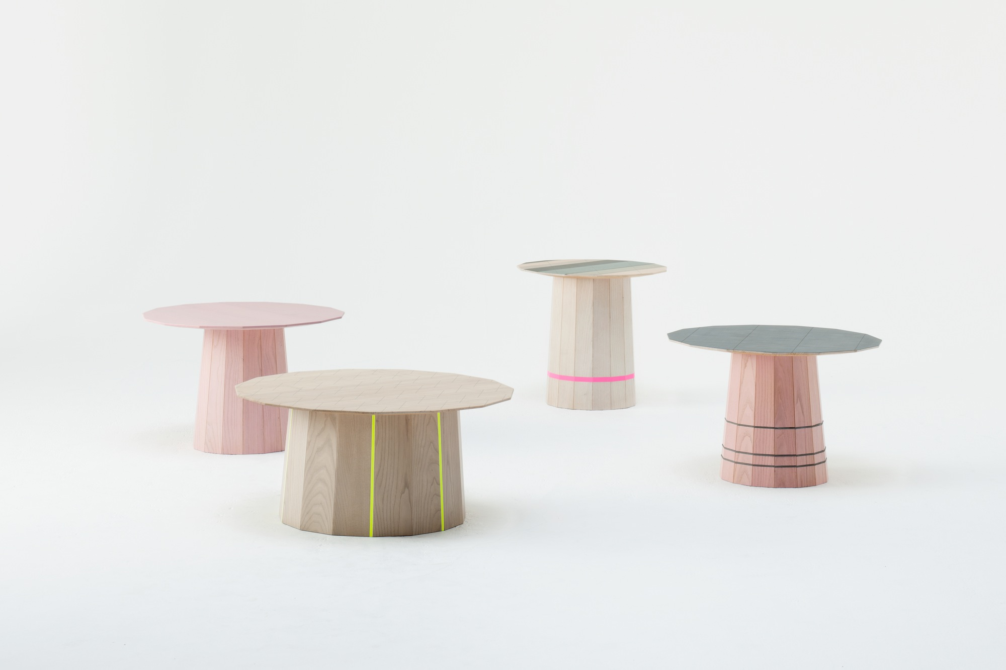 3. Colour Wood for Karimoku New Standard, Japan. Photography Takumi Ota