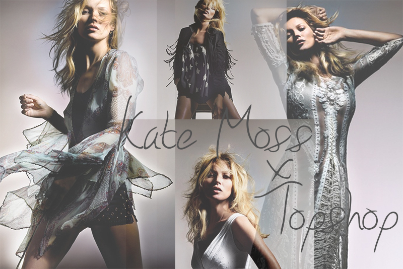 KATE MOSS x TOPSHOP SPRING 2014