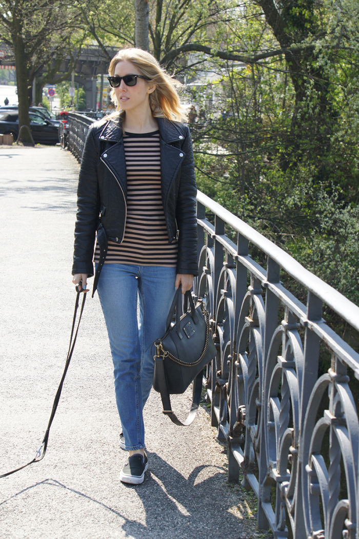 Outfit-Post: Die Mom Jeans